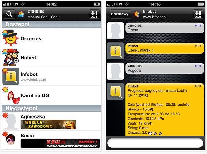 Gadu-Gadu v2.0 dla iOS
