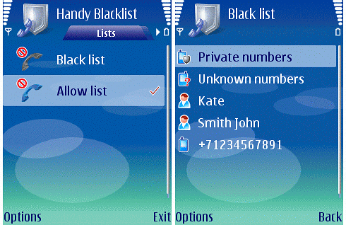 Handy-Blacklist.