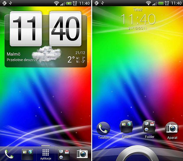 Android 4.0.1 z Sense UI 3.5   fot. forum.xda-developers.com