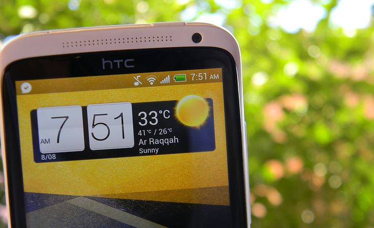 HTC One X. Fot. Beshroffline (lic. BY-SA)