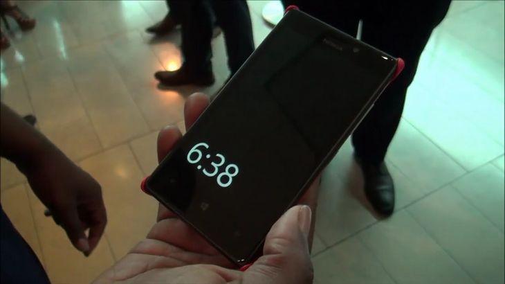 Nokia Glance Screen (fot. youtube.com)