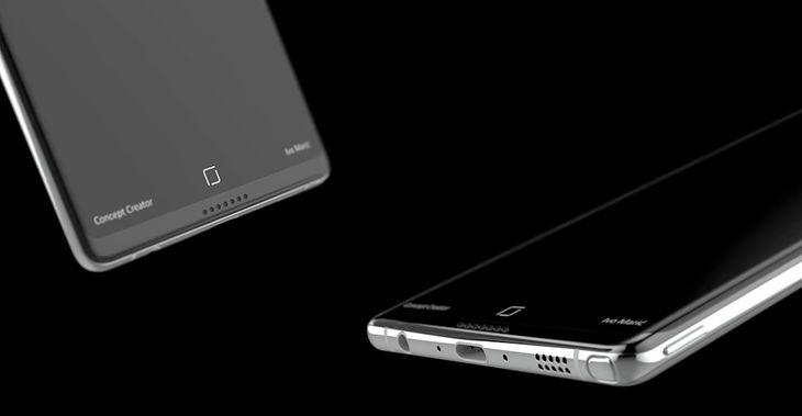 Koncept Galaxy Note'a 8