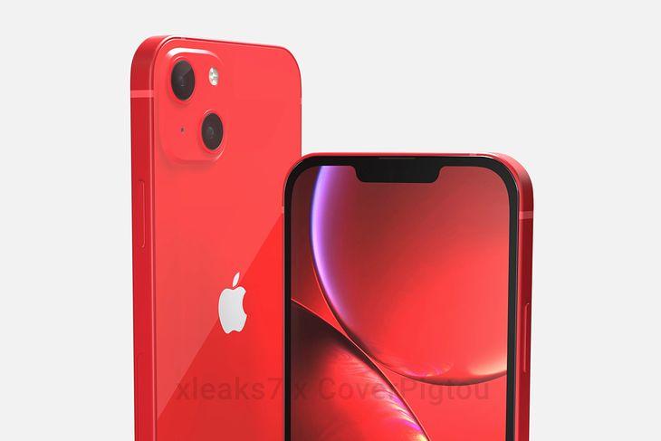 Wizualizacja wyglądu iPhone'a 13