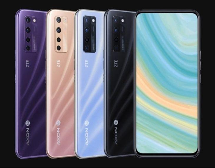 ZTE Axon 20 5G es el primer teléfono inteligente con (demasiado) tecnología tan esperada
