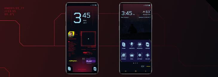 Zmień swój smartfon w deck netrunnera z Cyberpunk 2077