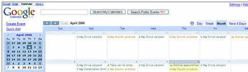CalSyncS60 - Google Calendar, synchronizacja.