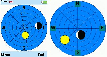 Compass - kompas dla telefonów bez GPS.