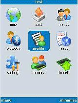 Blogi Wordpress, Facebook i lokalizacja w telefonie z J2ME.
