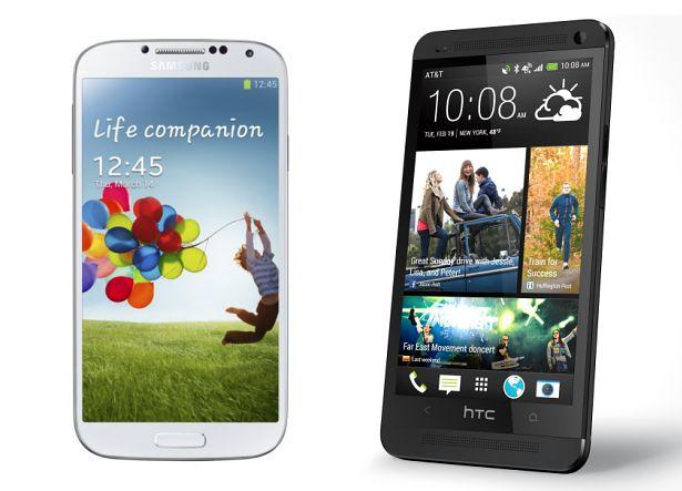 Samsung i HTC
