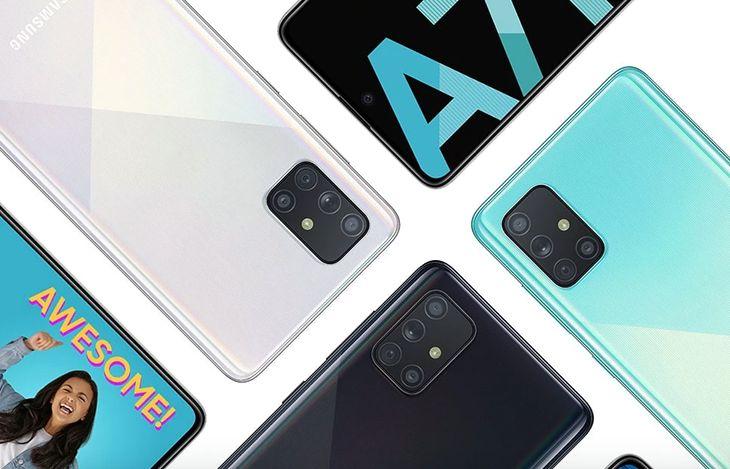 Następca Samsunga Galaxy A71 ma mieć jeszcze więcej aparatów