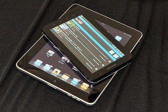 iPad i Galaxy Tab - dwa popularne tablety (fot. Technologizer.com)