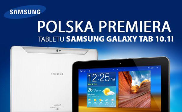 Galaxy Tab dostępny w Polsce | Komputronik
