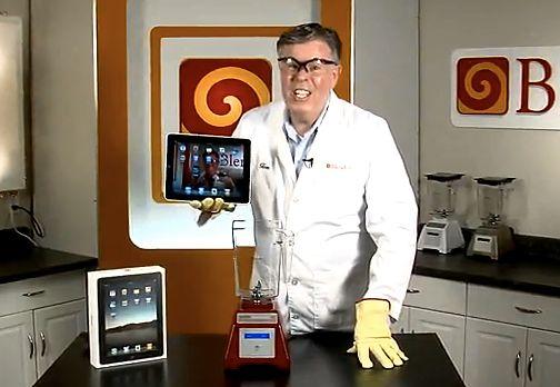 Will It Blend?, czyli iPad w mikserze