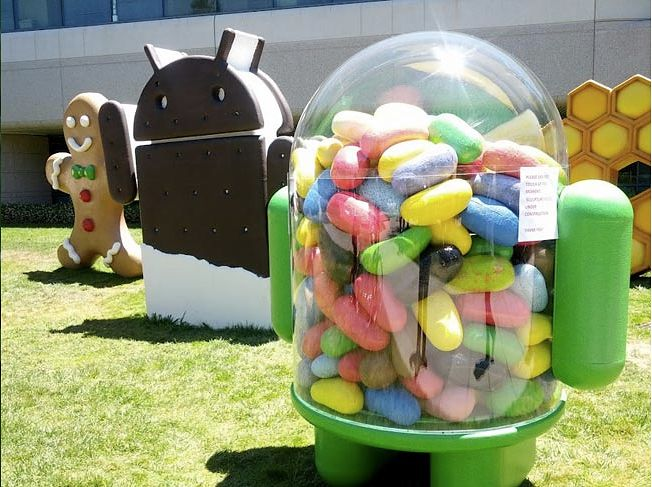 Android 4.1 Jelly Bean | fot.geeky-gadgets.com