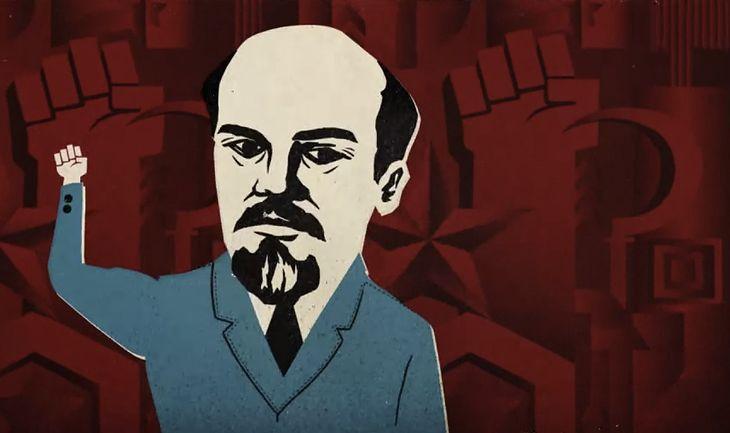 Niesmaczna reklama Heyah z Leninem w roli głównej