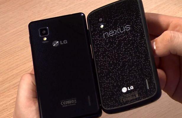 LG Swift G vs Nexus 4