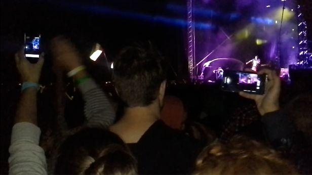 smartfon koncert