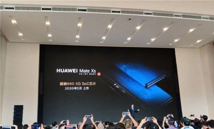 Zapowiedź Huawei Mate Xs