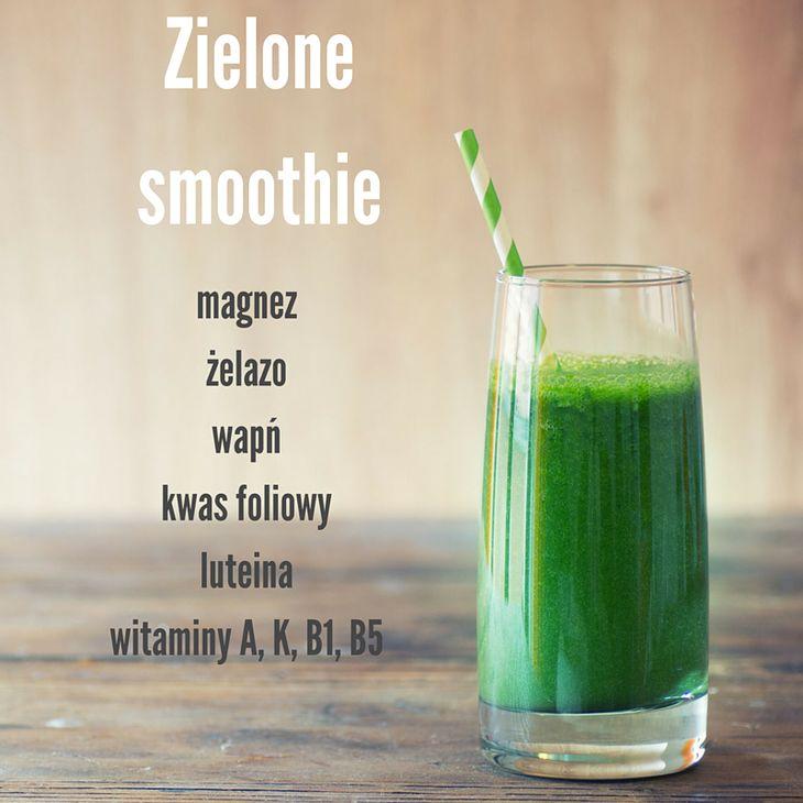Właściwości zielonego smoothie