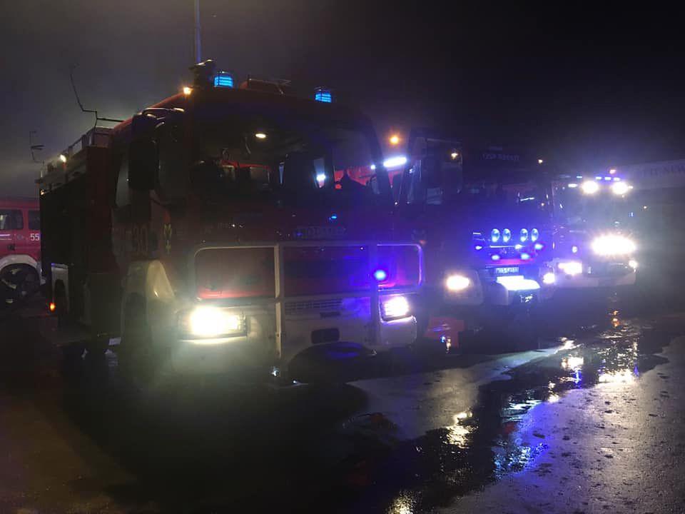 Pożar w Celestynowie