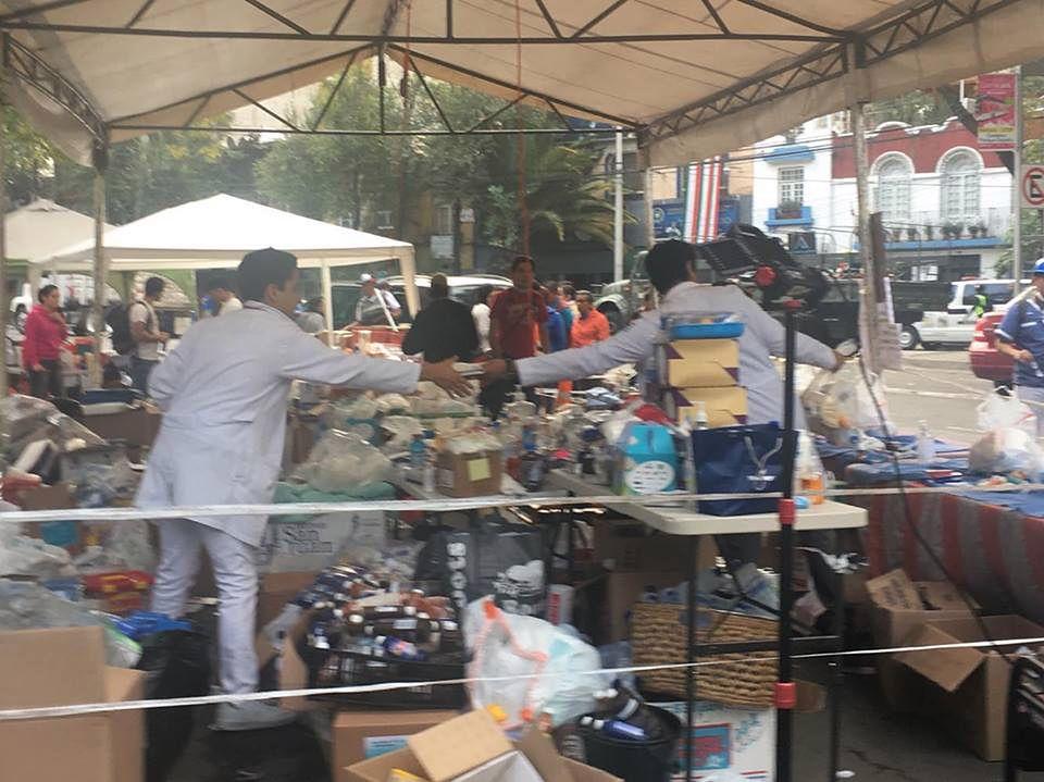 Centrum pomocy poszkodowanym w Mieście Meksyk