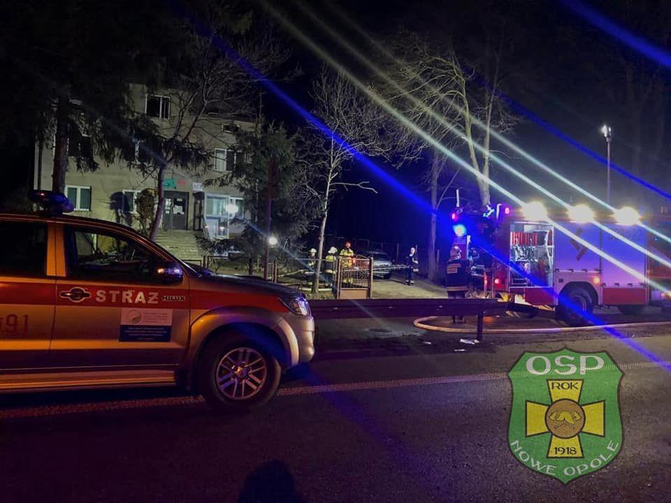 Pożar w miejscowości Bojmie