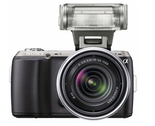 Sony NEX C3 z nową lampą błyskową Sony NEX C3 ma otrzymać identyczną matrycę, co Sony A55. To sensor o rozdzielczości 16.2 Mpix oraz możliwością nagrywania filmów HD.
