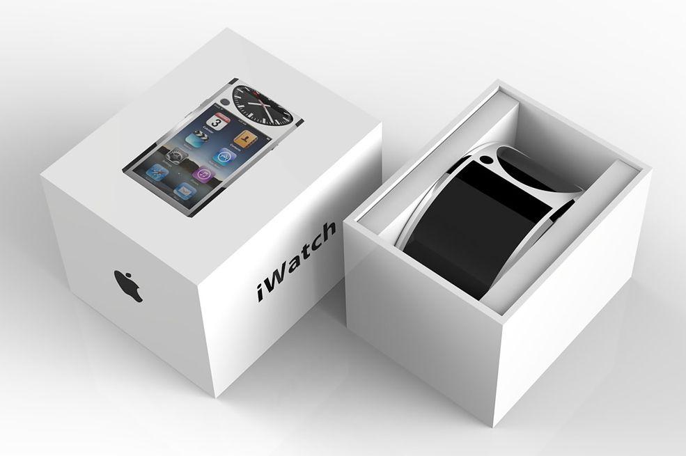 Koncept Apple Watch'a