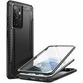 Etui SUPCASE Clayco Xenon do Samsung Galaxy S21 Ultra Czarny