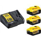Zestaw akumulatorówz ładowarką DEWALT DCB115P3-QW