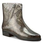 Kalosze MELISSA - Ankle Boots Socks SP AD 32034 Smoke 06005