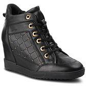 Sneakersy GEOX - D Carum C D84ASC 08554 C9999 Black