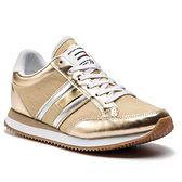 Sneakersy TOMMY JEANS - Casual Retro Sneaker EN0EN00413 Light Gold 715