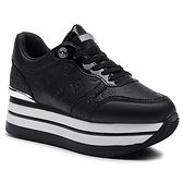Sneakersy GUESS - Hinders3 FL7HN3 ELE12 BLACK