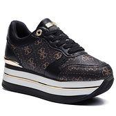 Sneakersy GUESS - Hinders3 FL7HN3 FAL12 BROWN/BLACK