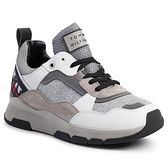 Sneakersy TOMMY HILFIGER - Patent Fashion Runner FW0FW04609 White YBS