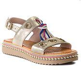 Sandały CARINII - B4382 H33-000-000-986
