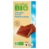 Carrefour Bio Czekolada mleczna 100 g