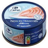 Carrefour Extra Tuńczyk kawałki w sosie własnym 200 g