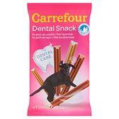 Carrefour Dental Snack Karma uzupełniająca dla psów do higieny zębów 210 g (7 sztuk)