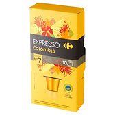 Carrefour Expresso Colombia Kapsułki kawy palonej mielonej 52 g (10 sztuk)