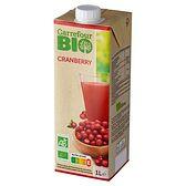 Carrefour Bio Ekologiczny napój żurawinowy 1 l