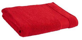 Ręcznik Tex Bath Bawełna Gładki Czerwony 100x150