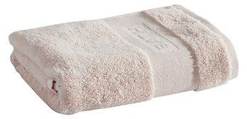 Ręcznik Tex Bath Bawełna Gładki Jasny Beige 50x90