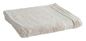 Ręcznik Tex Bath Bawełna Gładki Jasny Beige 100x150