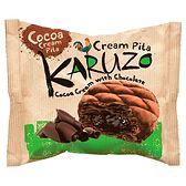 The Bakers Karuzo Pita z ciemnego ciasta francuskiego z kremem kakaowym i czekoladą 62 g