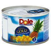 Dole Tropical Gold Kawałki ananasa w soku 227 g