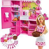 Simba Lalka Steffi w kuchni + akcesoria