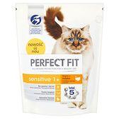 Perfect Fit Sensitive 1+ Karma pełnoporcjowa dla dorosłych kotów 750 g