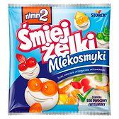 nimm2 Śmiejżelki Mlekosmyki Żelki owocowe wzbogacone witaminami 90 g